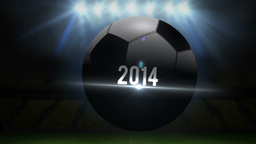 Colombia world cup 2014 animation with football Animation