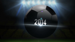 Brazil world cup 2014 animation with football Animation