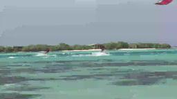 Stock Footage Kite Surfing Footage