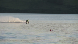 Stock Footage Water Skiing Footage