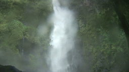 Stock Footage Tropical Waterfall Footage