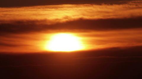 Sunset Sky HD Footage