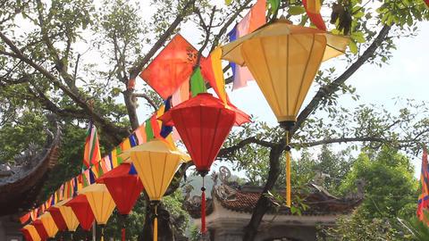 lantern in traditional festival, Asia ภาพวิดีโอ