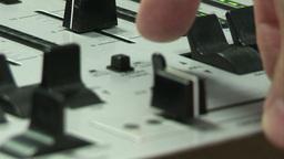 Studio Mixing Desk Footage