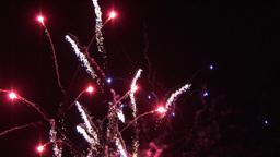 Exploding Fireworks Footage