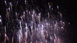 Exploding Fireworks Footage