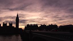 Big Ben In London stock footage