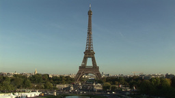 The Eiffel Tower Footage