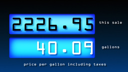 Fuel Prices Footage