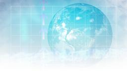 World Business Motion Background Animation