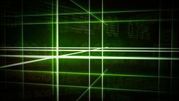 Futuristic Gridline Background Animation