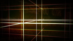 Abstract Futuristic Gridline Background Animation