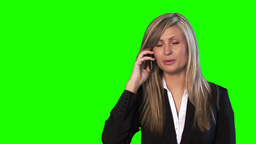 Green Screen Footage of an attractive Businesswoman Animation