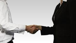 Business handshake Animation