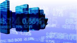 Falling Stock Market Animation Footage