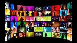 Disco Dancing Animation