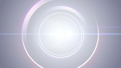 Opening intro Flash light flare W 1 blue 4k Animation