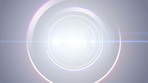 Opening Intro Flash Light Flare W 1 Blue Long 4k stock footage