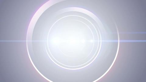 Opening intro Flash light flare W 1 blue Long 4k Animation