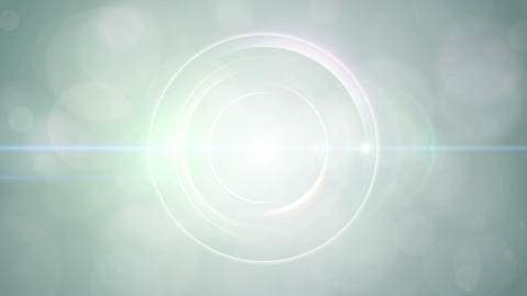 Opening intro Flash light flare W 1 green Short 4k Animation