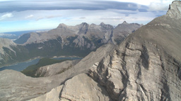HD2009-9-33-26 aerial mountains Stock Video Footage
