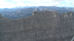 HD2009-9-33-28 aerial mountains Stock Video Footage