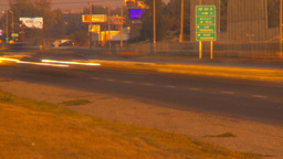 HD2009-9-35-4 blurred TL traffic LL Stock Video Footage