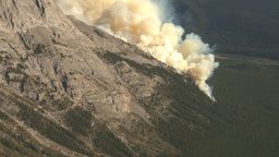 HD2009-9-37-16 Forest fire aerial Stock Video Footage