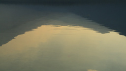 HD2009-9-38-15 lake reflection Stock Video Footage