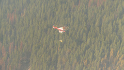 HD2009-9-39-3 aerial forest fire helo torcher Footage