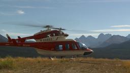 HD2009-9-40-11 heli lands behind helo Footage