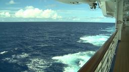 HD2008-8-11-1 ocean horizon promenade Footage