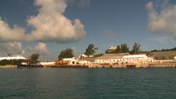 HD2008-8-12-2 Bermuda harbour Stock Video Footage
