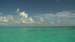 HD2008-8-12-10 cruising on water open ocean Stock Video Footage