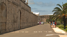 HD2008-8-12-23 Bermuda old fort Stock Video Footage