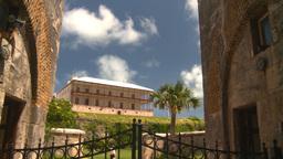 HD2008-8-12-27 Bermuda old fort Stock Video Footage