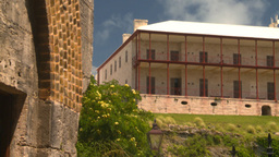 HD2008-8-12-29 Bermuda old fort Stock Video Footage