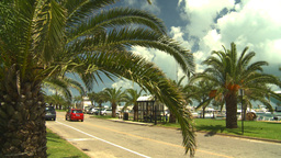 HD2008-8-12-49 Bermuda old town traffic Stock Video Footage