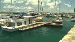 HD2008-8-12-53 Bermuda marina Footage