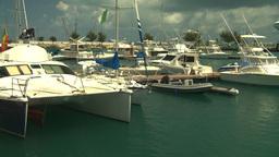 HD2008-8-12-55 Bermuda marina Stock Video Footage