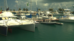 HD2008-8-12-55 Bermuda marina Stock Video Footage