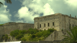 HD2008-8-12-57 Bermuda old town fprt Stock Video Footage