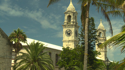 HD2008-8-13-3 Bermuda clock tower Footage