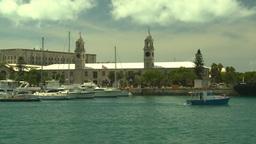 HD2008-8-13-9 Bermuda harbour Stock Video Footage