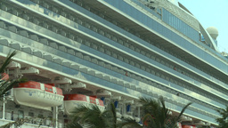 HD2008-8-13-11 cruise ship Stock Video Footage