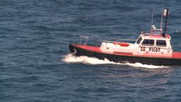 HD2008-8-13-31 pilot boat Stock Video Footage
