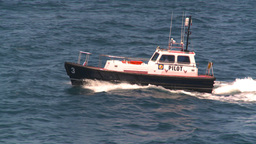 HD2008-8-13-31 pilot boat Stock Video Footage