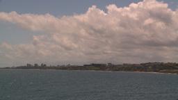 HD2008-8-13-35 San Juan from ocean Stock Video Footage