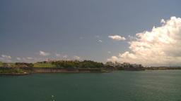 HD2008-8-13-43 San Juan from ocean WS Stock Video Footage