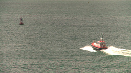 HD2008-8-13-45 pilot boat Stock Video Footage